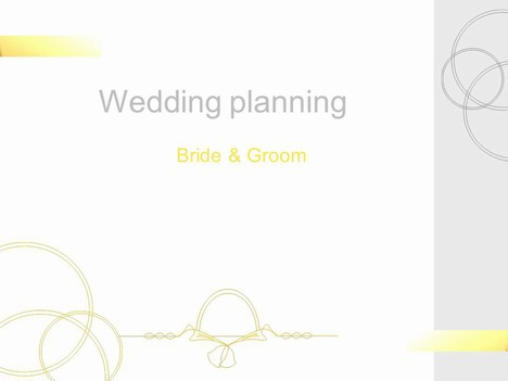 Wedding Planning Template