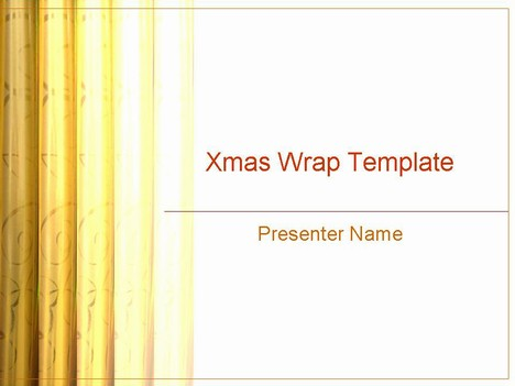 Christmas Wrap Template