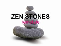 Zen stones template grey background zen stones template toneelgroepblik Gallery