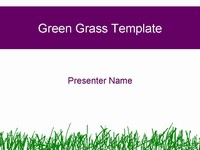 Green Grass Template thumbnail