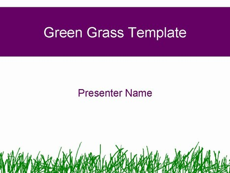 Green grass template powerpoint1g toneelgroepblik Image collections