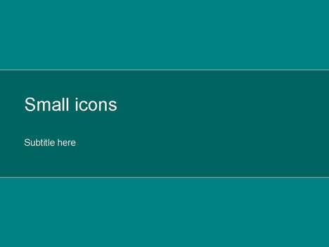 Small Icons Green 3