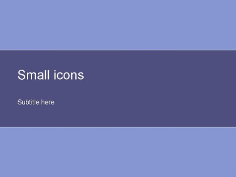Small Icons Purple