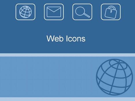 web icons template