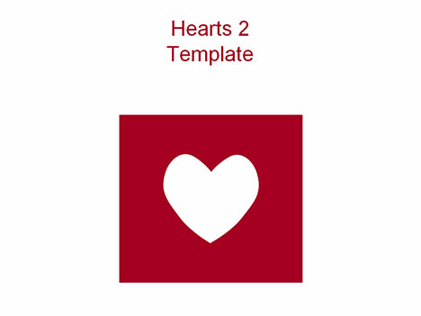 Hearts 2 PowerPoint Template