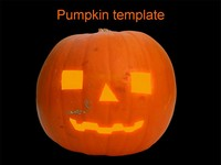 Halloween Pumpkin Template thumbnail