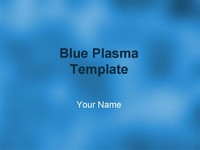Blue Plasma Template