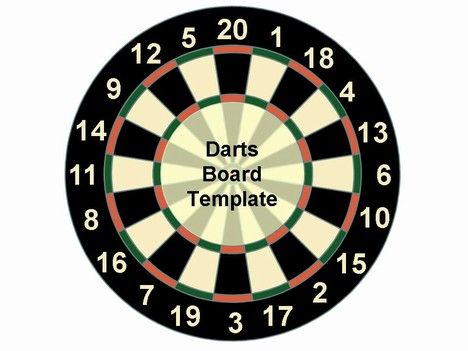 Dart Board Template