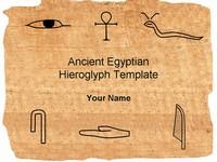Presentation magazine history hieroglyph powerpoint template thumbnail toneelgroepblik Images