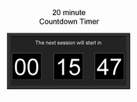 Free PowerPoint Countdown Timer Template