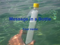 Message in a Bottle Template thumbnail