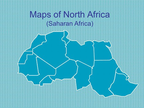 These PowerPoint maps of North Africa (Saharan Africa) are all in ...