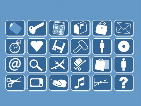 Small clip art icons toneelgroepblik Image collections