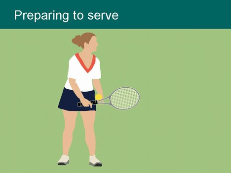 Tennis Players Clip Art