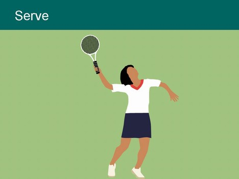 Tennis Players Clip Art inside page