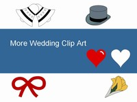 More Free Wedding Clip Art