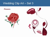 Wedding Clip Art - Set 3