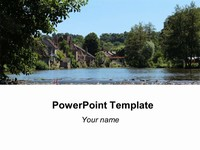 River Background Template thumbnail