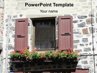 Window Shutter Template thumbnail