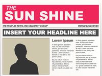 powerpoint newspaper templates
