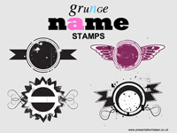 Grunge Name Stamps thumbnail