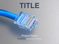 Ethernet cable template