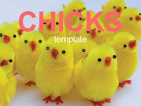 Fluffy Chicks Template thumbnail