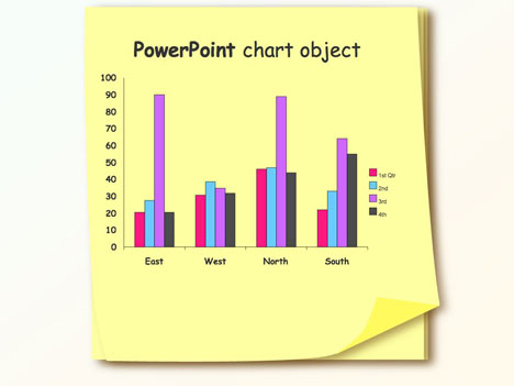 sticky note template, Powerpoint templates