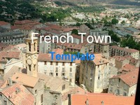 French Town Template