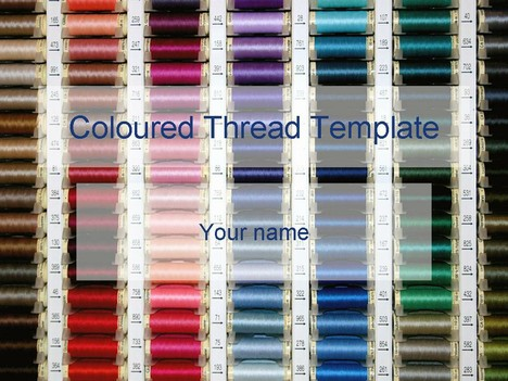 Coloured thread template toneelgroepblik Choice Image