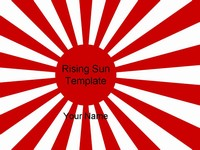 Rising Sun WW2 History Template