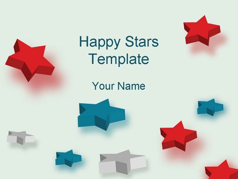 Happy Stars Template