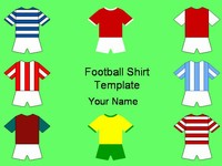 Football Shirts Template