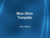 Blue Glow Template