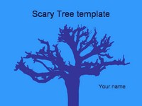 Scary Tree Template thumbnail