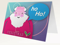 Father Christmas Free Printable Card thumbnail