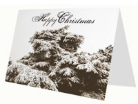 Christmas Winter Scene Card thumbnail