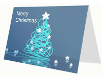 Corporate-Style Christmas Card