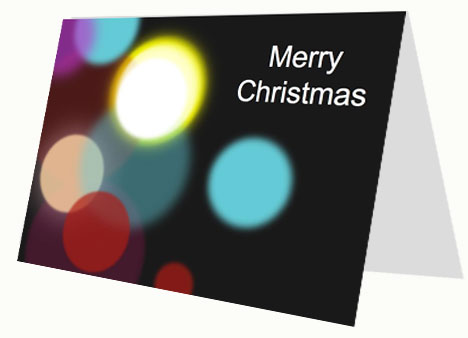 Business christmas card business christmas card inside page flashek Image collections