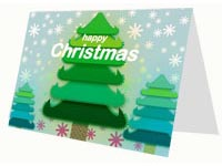 Christmas Tree Free Printable Card thumbnail