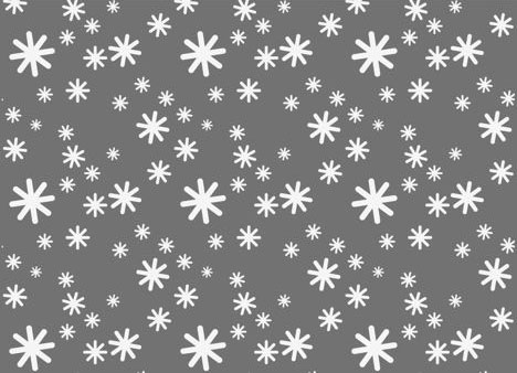 white snow greeting card, Modern powerpoint