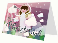 Christmas Angel Card thumbnail