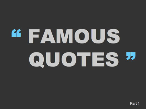 Famous quotes template toneelgroepblik Gallery