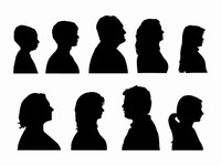 Cameo Silhouette Outlines
