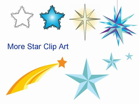 Even more star clip art