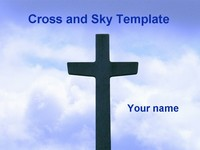 Sky and Cross Template