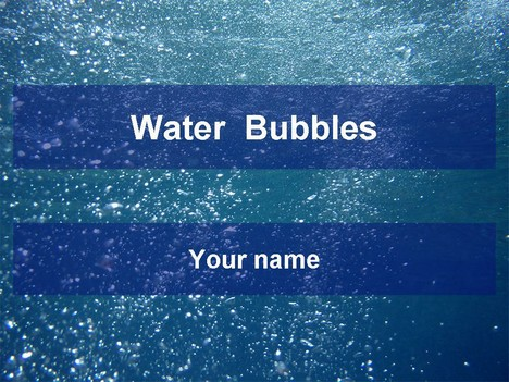 Water bubbles template toneelgroepblik Image collections
