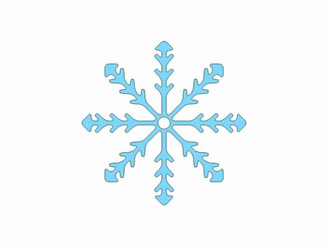 Snowflake Clipart PowerPoint