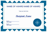 Certificate Clip Art - Set 1
