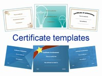 Certificate Clip Art - Set 2
